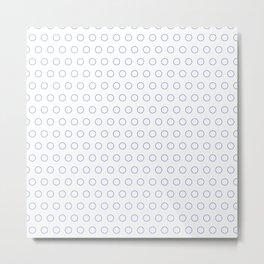 EMPTY DOT ((azure)) Metal Print