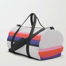 Retro Stripes 07 Duffle Bag