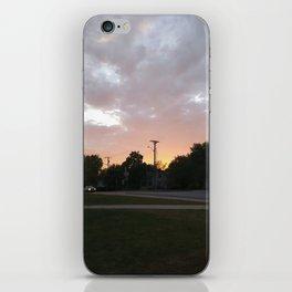 Sunlit Sky iPhone Skin