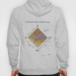 The Alchemist's Guide to Alcoholic Beverages (for light shirts) Hoody