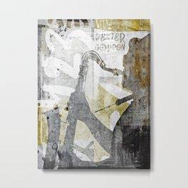 JAZZ ART Metal Print