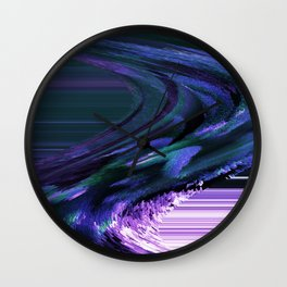 3-D Flow In An Unstructured Fashion Wall Clock