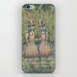 Double Blind I:  Where We're Going You Don't Need Eyes iPhone Skin