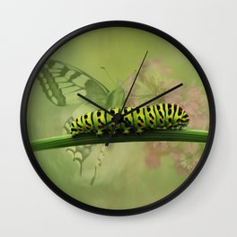 Papilio machaon Wall Clock