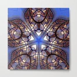 Sacred Geometry Star Metal Print