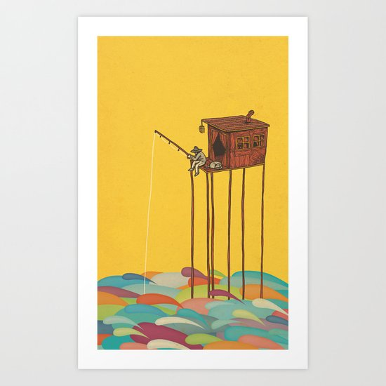 The Great Flood Art Print