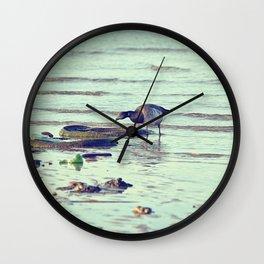 Trash Bird, #3 Wall Clock