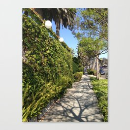 Strolling Canvas Print