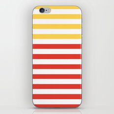POPPY STRIPES iPhone & iPod Skin