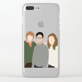 Why is it, when something happens, it is always you three? Clear iPhone Case