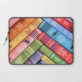 Leather Bound Classics Series - Part 2 Laptop Sleeve