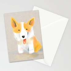 Corgi love Stationery Cards