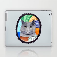 KITTY / GREY Laptop & iPad Skin