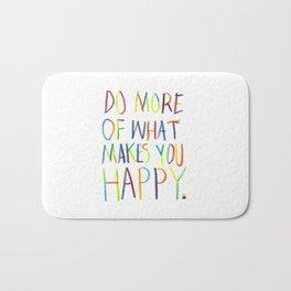 Positive Quote Bath Mat