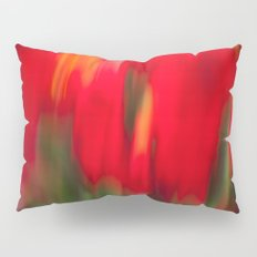 Red Gladiola Pillow Sham