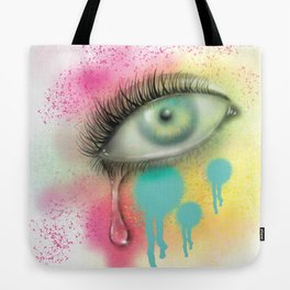 Last tear I shed for you Tote Bag