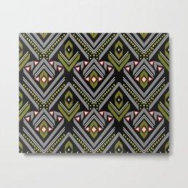 Aztec Geometrics Metal Print