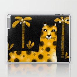 LOUNGING LEOPARD Laptop & iPad Skin