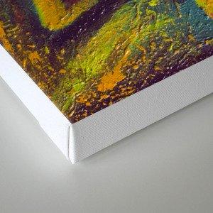 Omicron Canvas Print