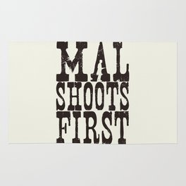 Mal Shoots First Rug