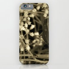 Tiny Fall Flowers Slim Case iPhone 6s