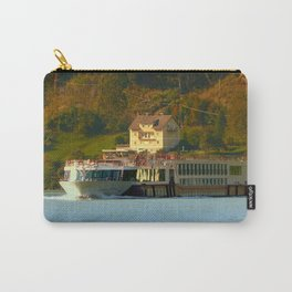 Cruise ship on the river Danube | waterscape photography Carry-All Pouch