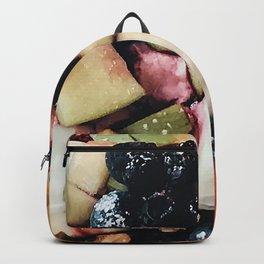 Granola fruit breakfast pattern Backpack