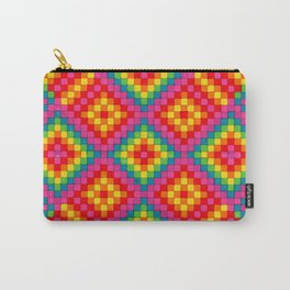 Warm Rainbow Carry-All Pouch