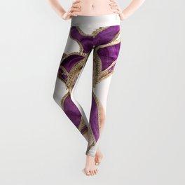 1387s-MM Jester Mask on a Implied Nude Fine Art Model Leggings