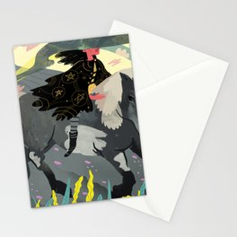 The Knight Of Pentacles Stationery Cards