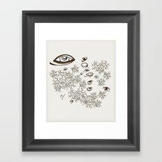In the Barrens Framed Art Print