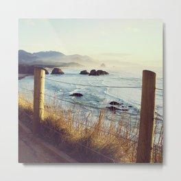 Oregon Coast View Metal Print