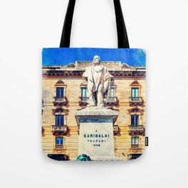 Trapani art 17 Sicily Tote Bag
