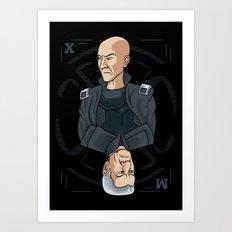 King of the Mutants (X) Art Print