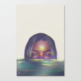 loose lips sink ships Canvas Print
