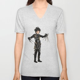 Edward Scissorhands - Johnny Depp Unisex V-Neck