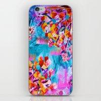wonderland iPhone & iPod Skins featuring wonderland by Lara Gurney