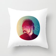 Turvos - Our Homemade Music Band Throw Pillow