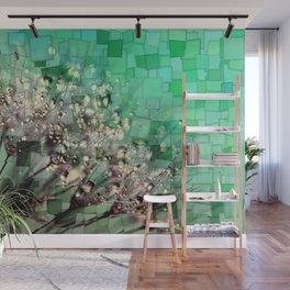 Fresh Dandelions Mosaic Wall Mural
