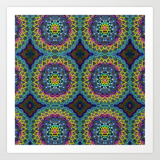 Infinite Colors Art Print