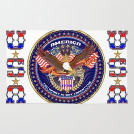 America The Spirit Is Not Forgotten Rug