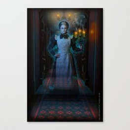 Candlelights Flicker by Topher Adam of Imafoolishmortal.com Canvas Print