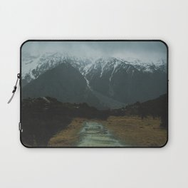 Hiking around the Mountains & Valleys of New Zealand Laptop Sleeve