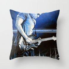 John Mayer Blues Throw Pillow