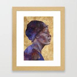 Women of Valor: Harriet Tubman Framed Art Print