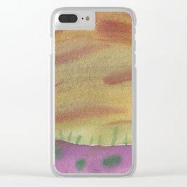 Meteorite Shower Clear iPhone Case