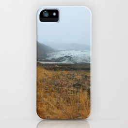 glacier in the distance iPhone Case