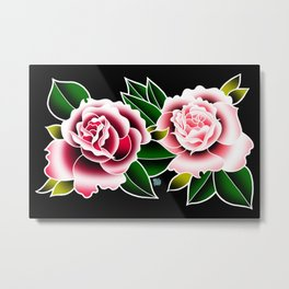Rose Scent Breeze Metal Print