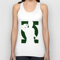 green lantern Tank Tops featuring Green Lantern by Sport_Designs