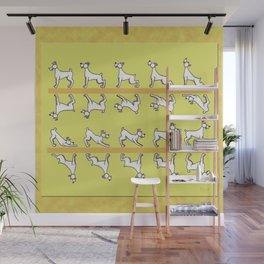 Flipping the Dog Wall Mural